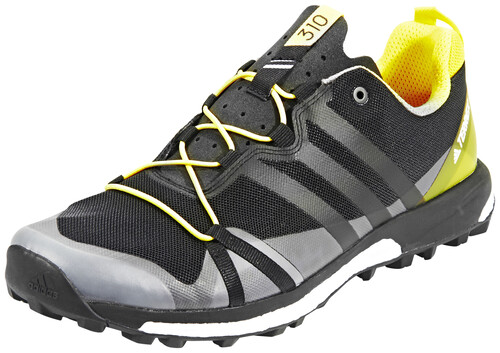 Les Chaussures De Course Adidas Terrex Hommes Skychaser Gris / Noir 10 TEJTouwD1